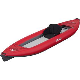"NRS STAR Paragon XL Inflatable Kayak 13'6"" red"
